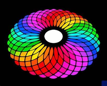 Rainbow Animated Wheel Square Gifs Illusion Gay