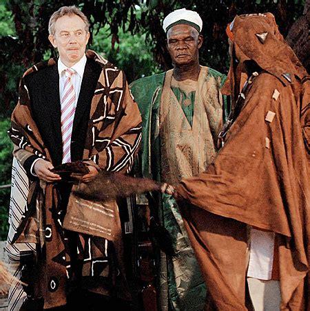 Tony Blair the African chief | Metro News