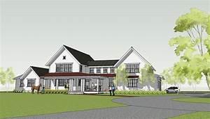 Simply Elegant Home Designs Blog: Modern Farmhouse by Ron