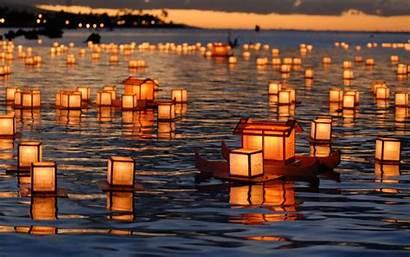 Chinese Lantern Lanterns Floating Wallpapersafari