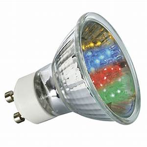 Ampoules A Baionnette Couleur : ampoule 20 led gu10 pour spot lumi re color e ~ Edinachiropracticcenter.com Idées de Décoration