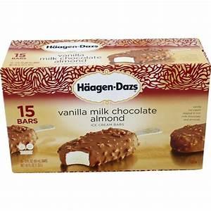 Costco Haagen-Dazs Vanilla Milk Chocolate Almond Ice Cream ...