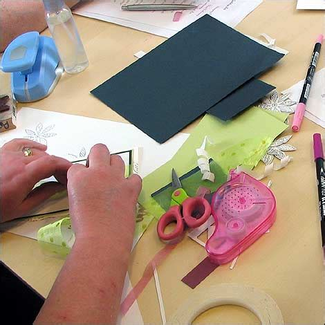 Bbc  Leicester  In Pictures  Handmaking Cards