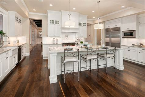 big white kitchen 63 beautiful traditional kitchen designs designing idea 959 | large bright white traditional kitchen with island