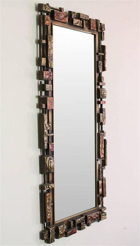 home interior mirrors mirrors home decor brutalist style wall mirror from