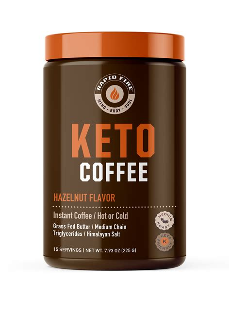Around every corner you can see tons of different keto rapid diet pills claim that they can help you get your weight under control. Rapid Fire Hazenlut Keto Instant Coffee Mix, 7.93 oz Canister - Walmart.com - Walmart.com