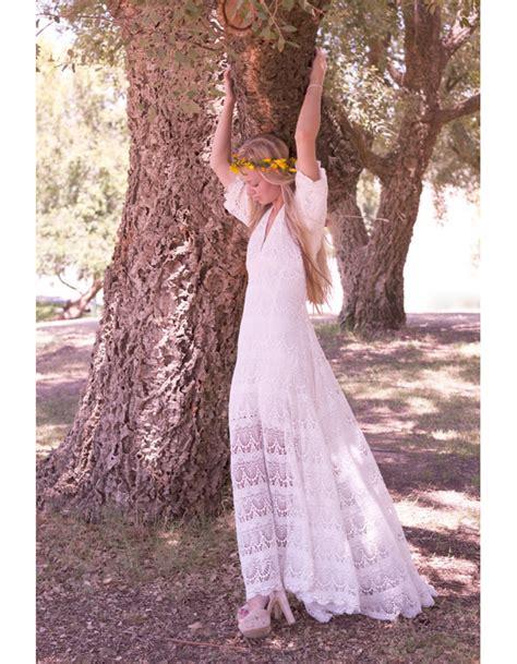 robe mariée chetre chic robe de mari 233 e vintage hippie 20 robes de mari 233 e r 233 tro