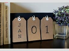 Make a Perpetual Calendar for the New Year DIY Network