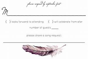 rsvp wording check for plus one troubles the knot With wedding rsvp cards plus one