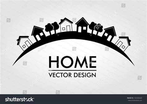 home design  lines background vector stock vector