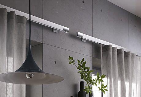 Jab Drapery Hardware - beautiful clean aluminum inside rail drapery hardware by
