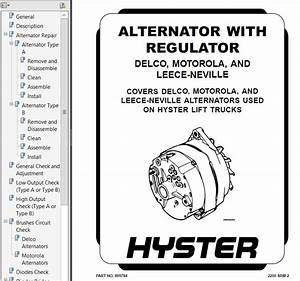 Hyster Class 5 For G005 Engine Trucks Pdf Repair Manual