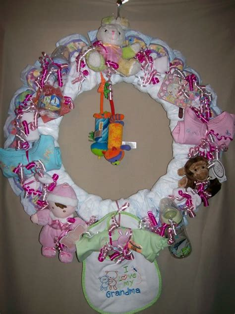 diaper wreaths view topic picturesinstructions