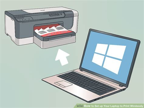 3 ways to up your laptop to print wirelessly wikihow
