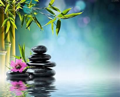 Zen Spa Meditation Bamboo Bathroom Tapeciarnia Ambiance