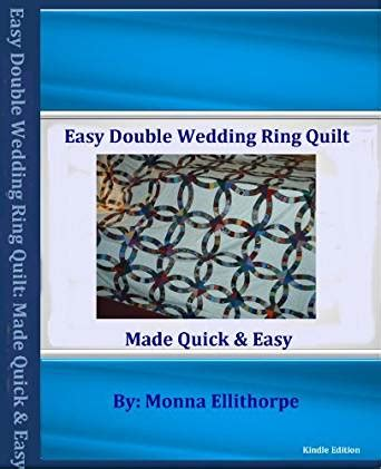 easy double wedding ring quilt pattern kindle edition