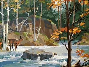 Vintage, Woodland, Wonderland, Big, Autumn, By, Acesfindsvintage