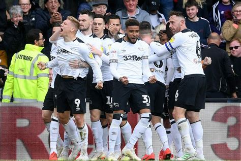 Rams celebrate Waghorn's goal Ram's 1st of the game...May ...