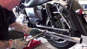 How To Remove Install Rear Wheel Tire Of Harley Davidson Motorcycle  Law Abiding Biker Podcast