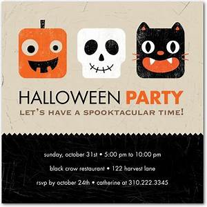 25+ Helping Halloween Invitations