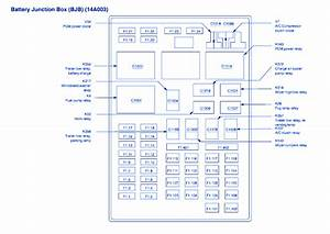 Ford F150 2002 Main Fuse Box  Block Circuit Breaker Diagram