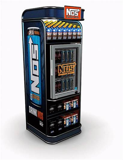 Energy Nos Display Throttle Coke Drink Pop