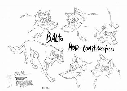 Balto Characters Character Concept Cartoon Sheets 1995