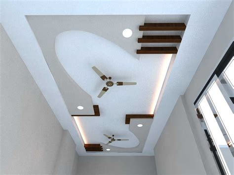fabulous false ceiling designs for hall also pop design trends images with two fans best