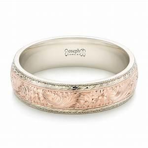 Custom Men39s Hand Engraved Wedding Band 102431 Seattle