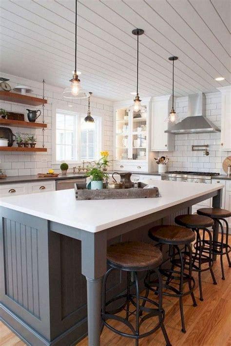 farmhouse kitchen island ideas the kitchen island is the
