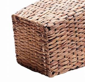 Korb Aus Wasserhyazinthe : korb korbvase quadratisch aus wasserhyazinthe 20cm online kaufen ~ Indierocktalk.com Haus und Dekorationen
