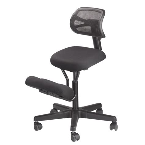 solace kneeling chair with mesh back bp1442 mesh kit jobri