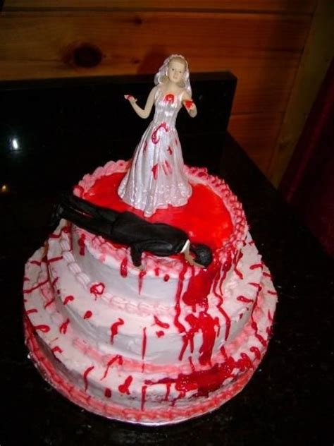 gruesome bloody divorce cakes riot daily