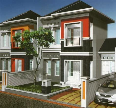 modern bertingkat  gaya minimalis rumah minimalis