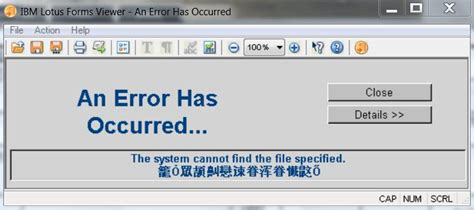 ibm lotus forms viewer installing error techyv com