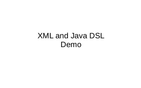 spring integration  xml  java dsl