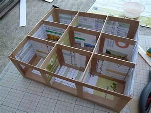 Boite De Rangement Papier : tuto bo te multi rangements partie 1 danslesmainsdeval ~ Teatrodelosmanantiales.com Idées de Décoration