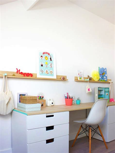 ikea floating desk shelf 20 diy ikea desk hacks for functional workspace house