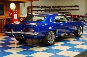1969 Chevrolet Camaro Ls Resto Mod  U2013 Blue  U2013 A U0026e Classic Cars