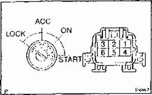 Toyota Ignition Tumbler Diagram