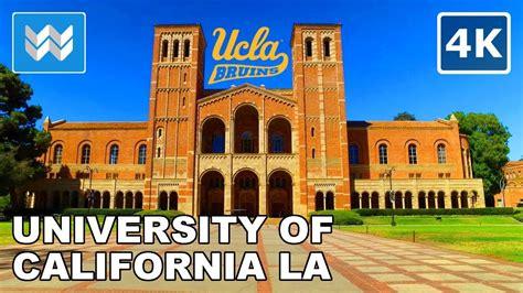 Campus Tour of UCLA (University of California, Los Angeles ...