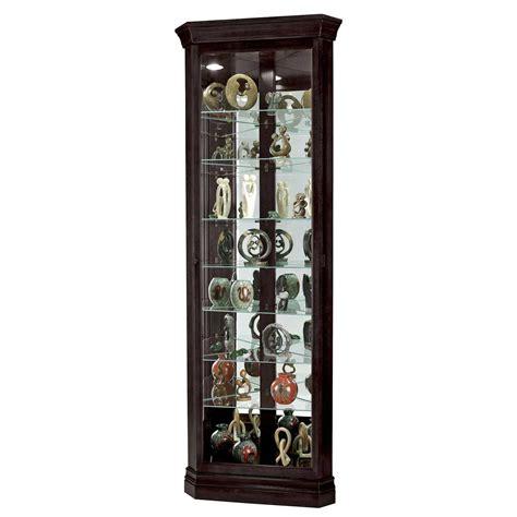 black curio cabinet black corner curio cabinet for home office