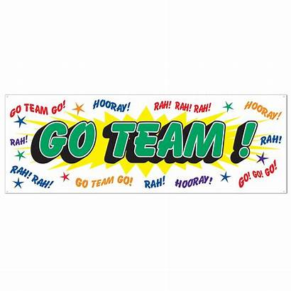 Team Clipart Banner Sign Clip Let Ever