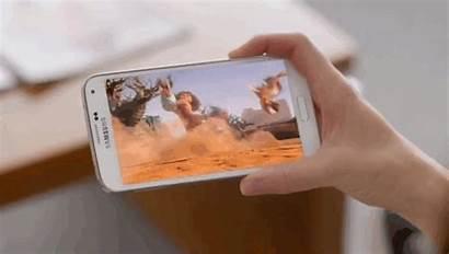 Samsung Galaxy Phone Screen Gifs S5 Smartphone