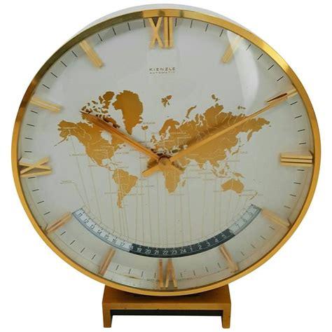 world time zone desk clock large kienzle automatic table world timer zone clock