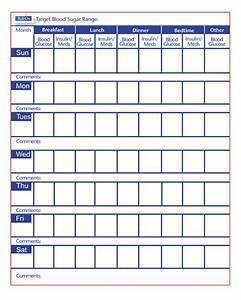 free printable blood sugar log free medical planning With blood sugar log book template