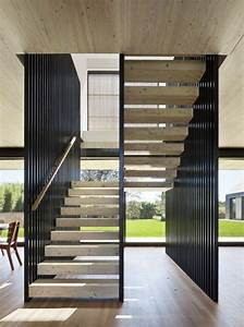 Rampe D Escalier Moderne : design d 39 int rieur styl avec le tableau triptyque escalier treppe haus ~ Melissatoandfro.com Idées de Décoration
