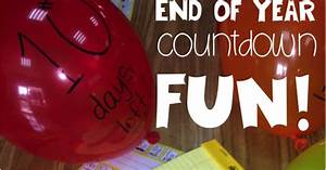 End Of The Year Countdown- Freebie