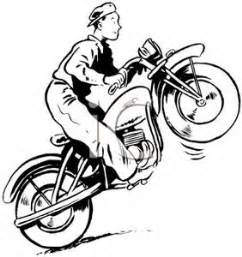Motorcycle Clipart Black And White | Clipart Panda - Free ...