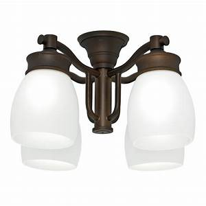 Casablanca light maiden bronze fluorescent ceiling